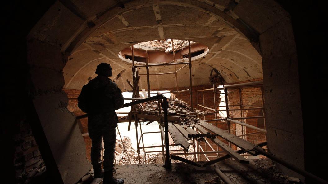 Украинская артиллерия открыла огонь поселам наюге ДНР