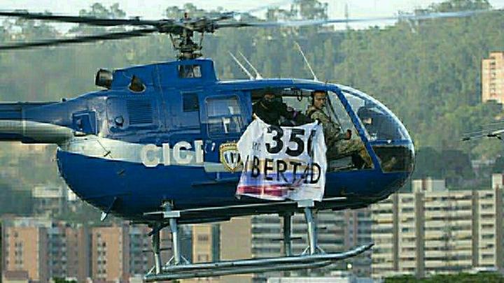В Венесуэле нашли вертолет, на котором атаковали здание суда