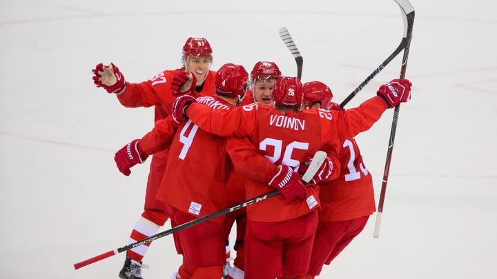 Русские хоккеисты получат перстни за победу на ОИ-2018