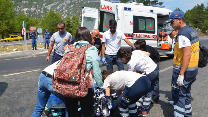 В Турции разбился рейсовый автобус, 8 погибших