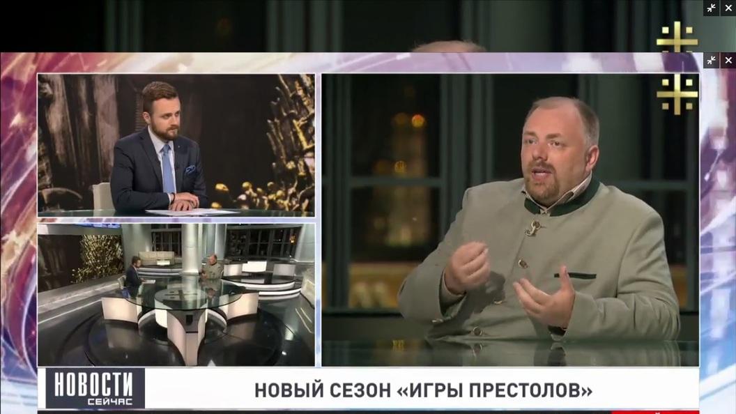 Холмогоров: Мартин полностью освободил Игру престолов от христианской морали
