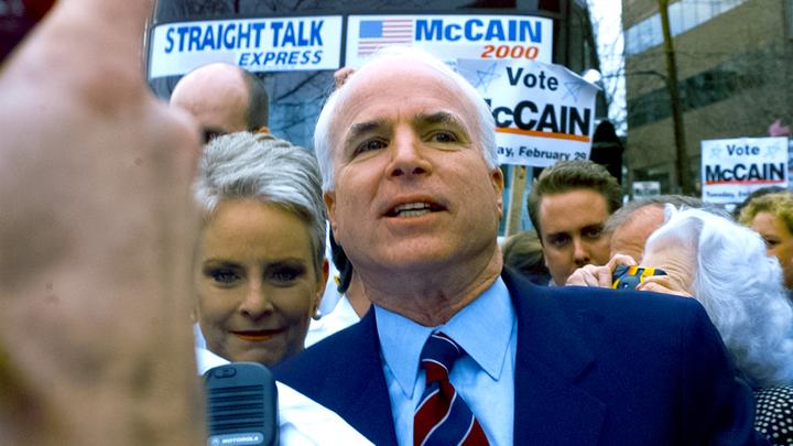 Жена Маккейна призналась ему в любви и поэтически приготовилась прощаться