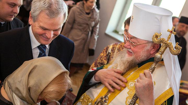 Жизнь Церкви и вера человека — это не шутки: предстоятель Польской Церкви выступил в поддержку митрополита Онуфрия