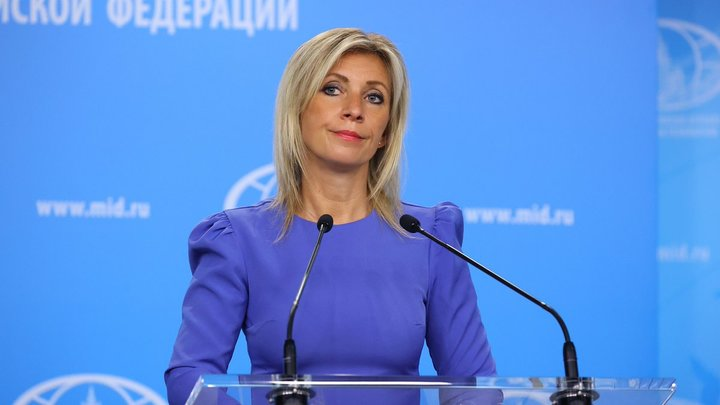 Захарова указала на своё место Украине, где собрались требовать экстрадиции Поклонской из Африки
