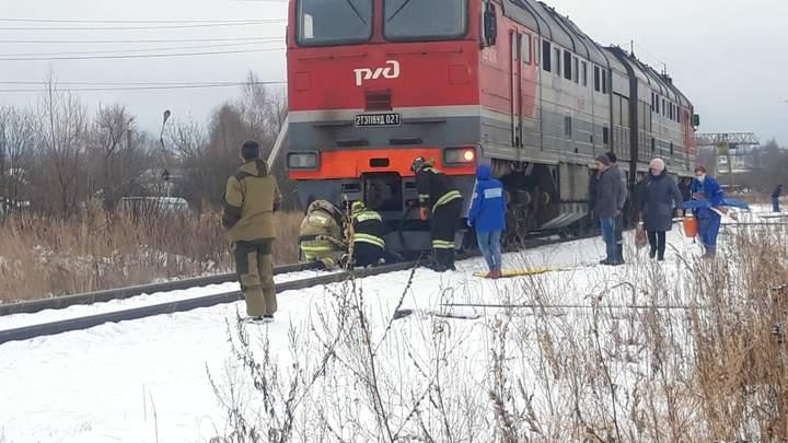 В Фурманове мужчина погиб под колесами резервного тепловоза