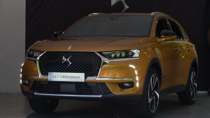 Французский DS 7 Crossback появится на дорогах России в 2018 году