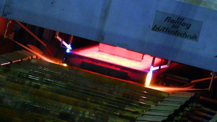 Локомотивы остановили крупнейший металлургический комбинат на Украине