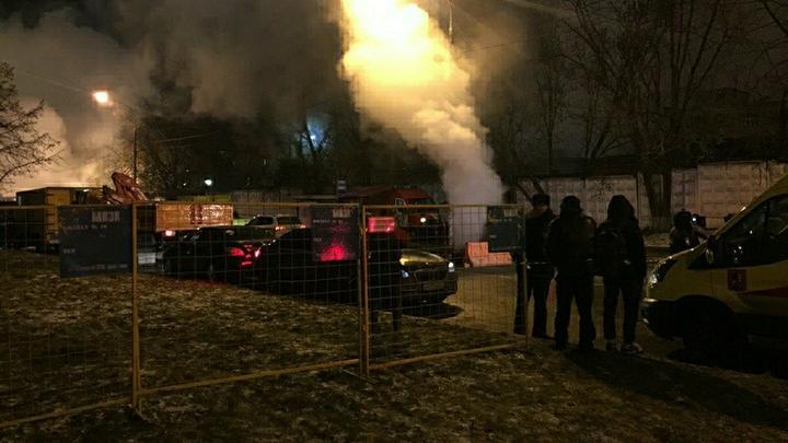 Тепло вернулось в дома на востоке Москвы после прорыва трубы