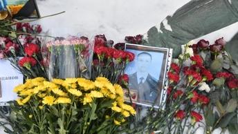 Под Иркутском жители составили на снегу последние слова летчика Филипова, погибшего в Сирии