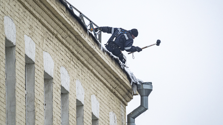 В Ивановской и Владимирской областях начали штрафовать за сосульки