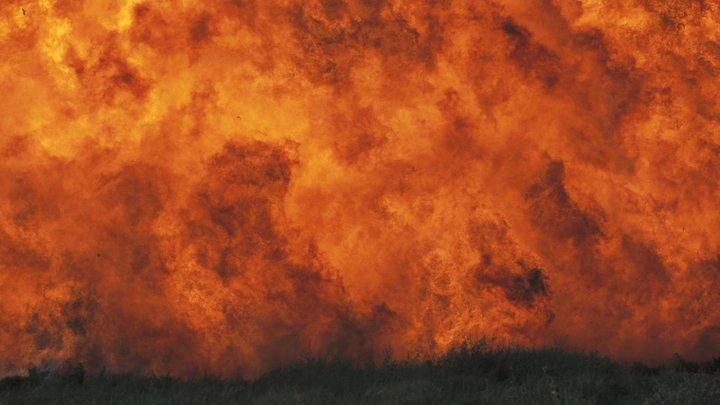 Плановый подрыв снарядов в украинской Балаклее спровоцировал панику