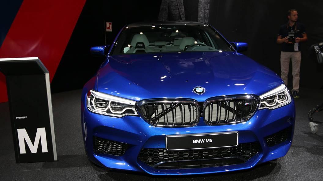 Концерн БМВ запустил производство «самого мощного седана» M5 F90