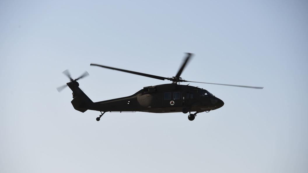 Назападе Ирака потерпел крушение американский военный вертолет