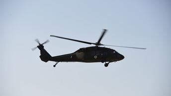 Падение черного ястреба : Военный вертолет США разбился у границы с Сирией