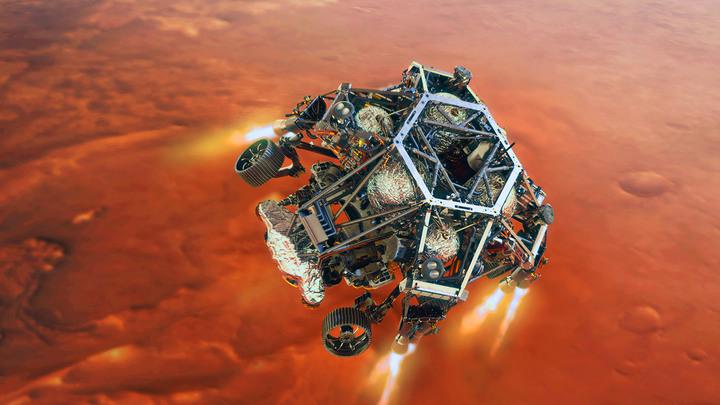 По Марсу ездит джип: Глобальное достижение оказалось американским шоу