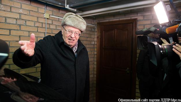 Жириновский расскажет, кто такой Трамп, в программе Чай с Захаром