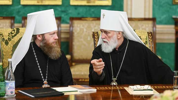В Московской Патриархии сменился управделами. Священный Синод одобрил прошение митрополита Саввы