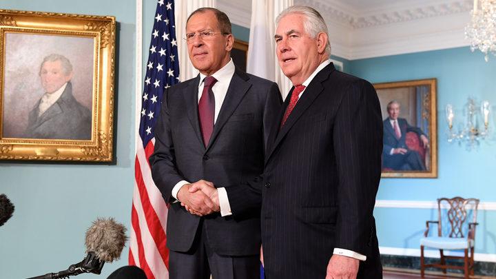Раскрыты темы неформальных переговоров Лаврова и Тиллерсона