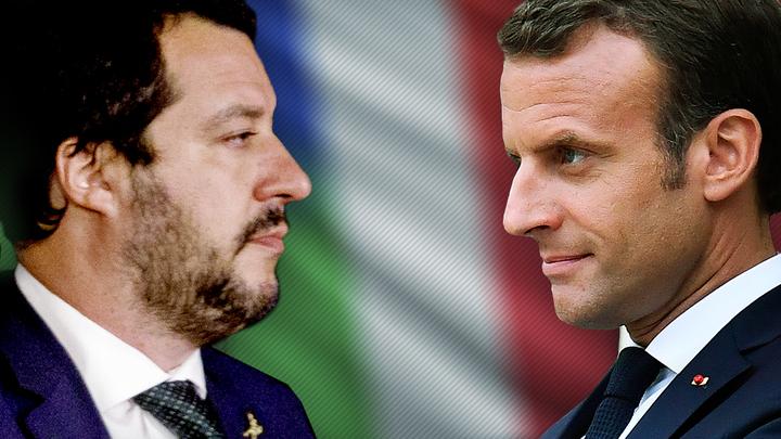 Нелегальные мигранты поссорили Италию с Францией