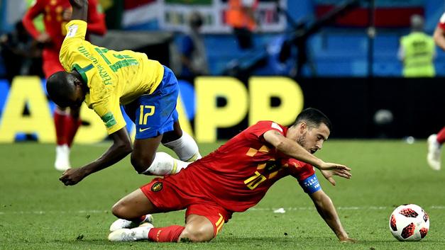 Французы скучно обыграли Уругвай, а Бразилия проиграла из-за болтливости тренера