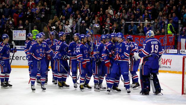 Хоккейный СКА вновь стал лучшим в Европе
