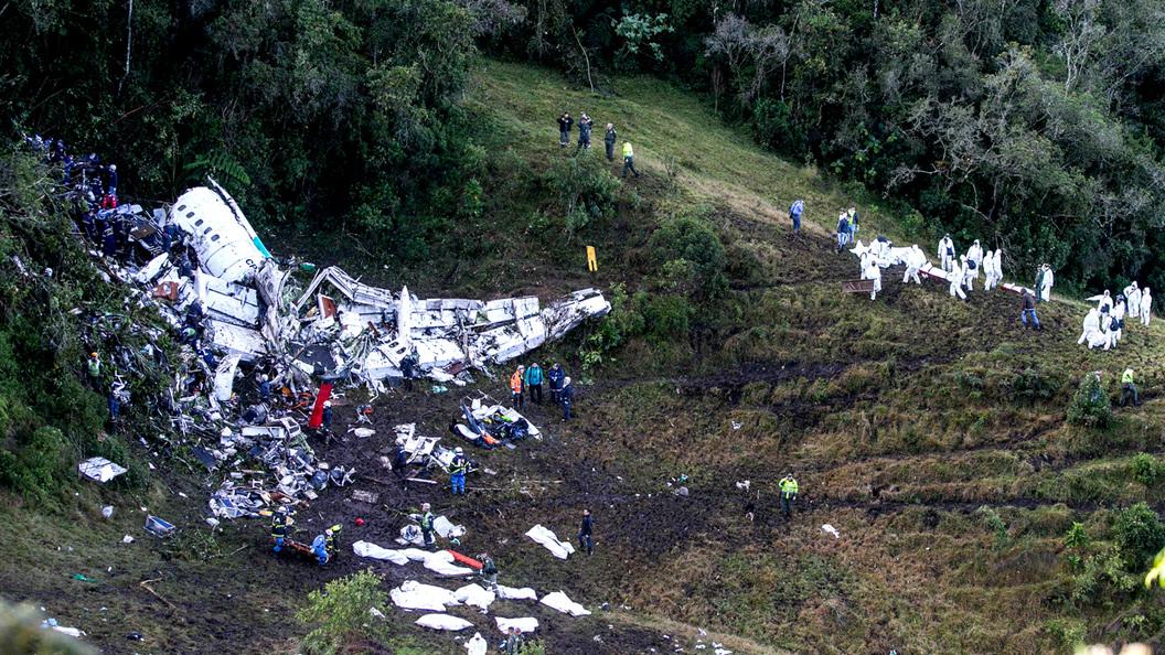 Самолёт с«Шапекоэнсе» разбился из-за недостатка топлива