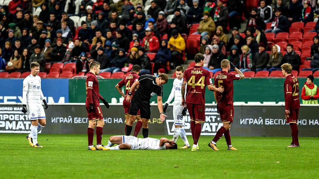 Матч «Динамо» и«Рубина» невыявил победителя