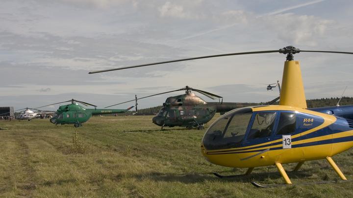 Один человек погиб при крушении вертолета, летевшего вАбрау-Дюрсо
