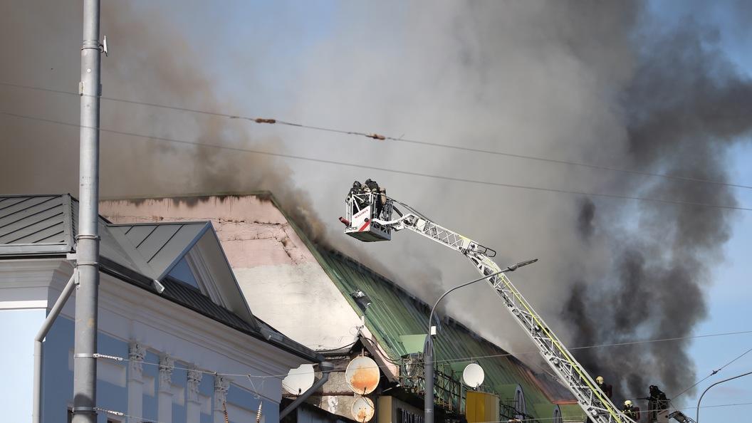 В столице России три ребенка выпрыгнули изокна, спасаясь отогня