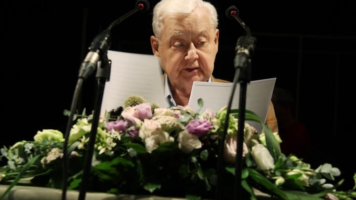 Олег Табаков: Умение сказать спасибо - одна из важных привычек
