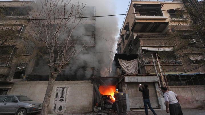 Дамаск снова под обстрелом: Жертвами ракет боевиков стали 9 человек