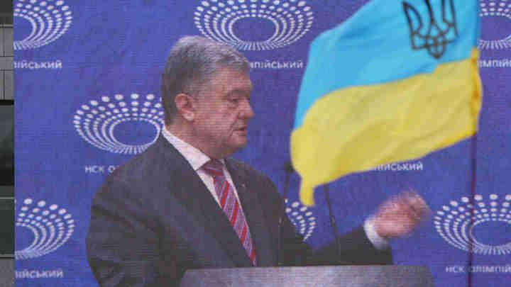 У Порошенко увидели взрыв позитива и слёзы в глазах на дебатах в Олимпийском