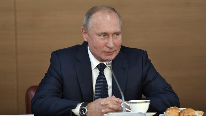 Весьма успешное развитие: Путин начал встречу с президентом Египта с добрых слов