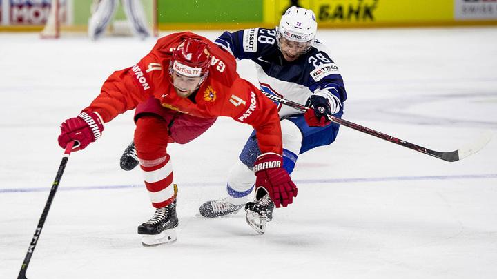 Русские хоккеисты не дали французам и головы поднять