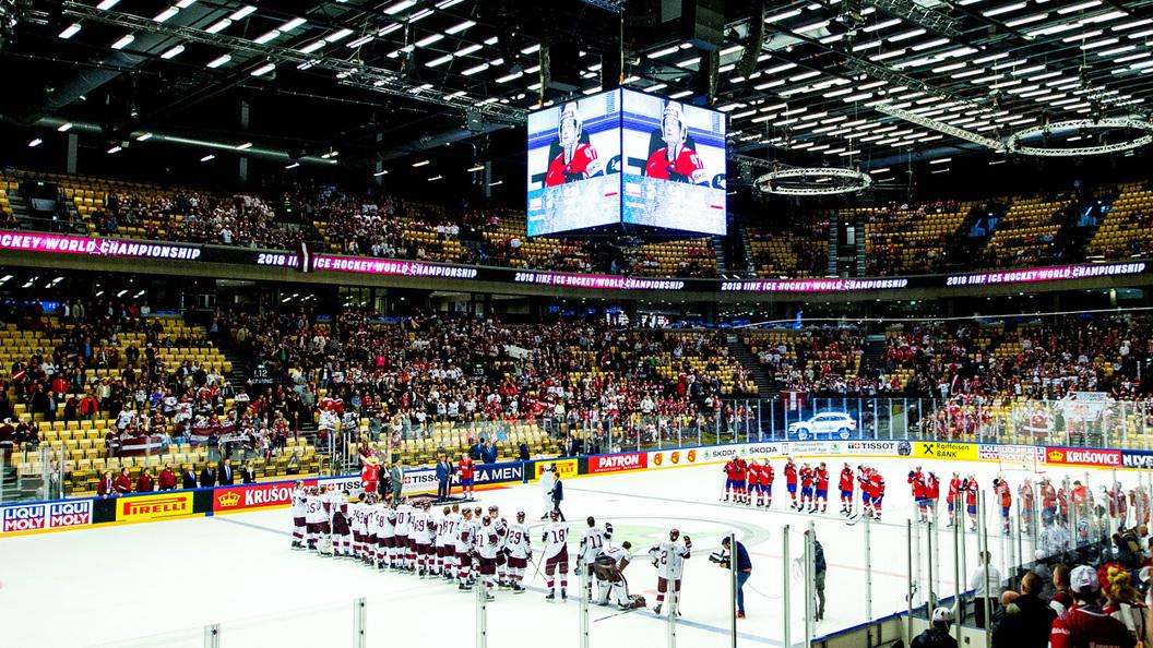 Сборная Канады отправила десять шайб вворота Южной Кореи