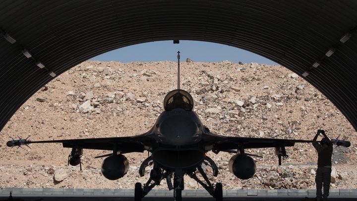 США направляют в Южную Корею эскадрилью из 12 F-16