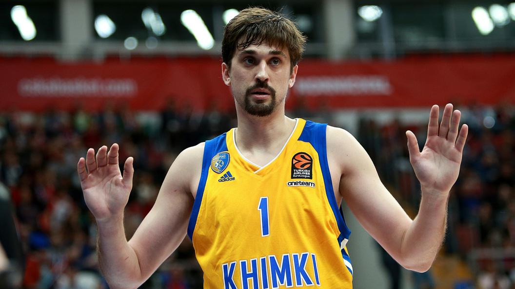Баскетболист «Химок» Швед получил приз самому результативному игроку Евролиги