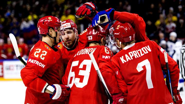 Русские хоккеисты насыпали соперникам полную сетку на ЧМ в Дании