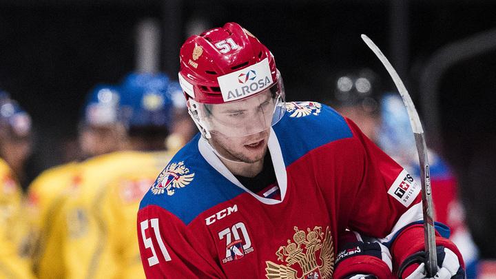 Последнее место в заявке сборной России занял Береглазов