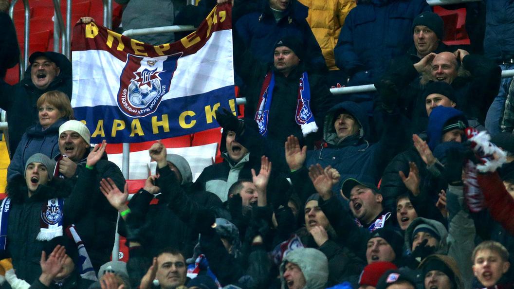 Мордовия досрочно вышла в ФНЛ, заодно обновив рекорд посещаемости матча ПФЛ