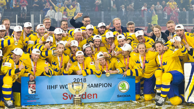 Швеция второй раз подряд выиграла чемпионат мира по хоккею
