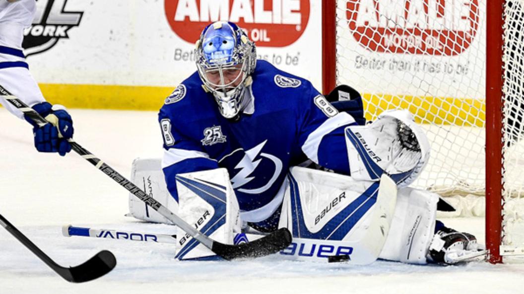 Андрей Василевский претендует название лучшего вратаря НХЛ