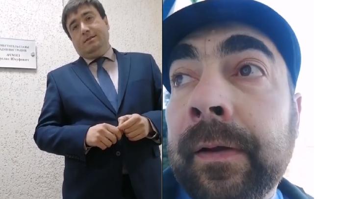 Заместителя главы поселка Яблоновский уволили после скандала с жителем, пришедшим на прием