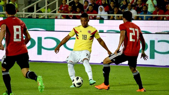 Сборная Египта без Салаха сыграла вничью с Колумбией