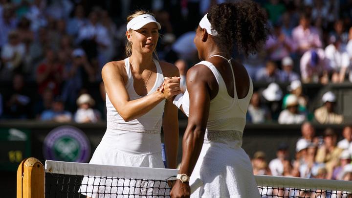 Шарапова считает Серену Уильямс лучшей теннисисткой мира