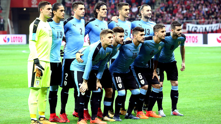Сборная Уругвая обнародовала финальную заявку на ЧМ-2018