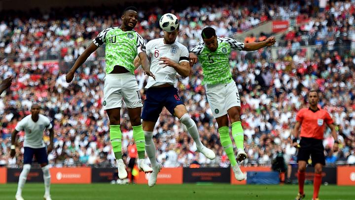 Англичане с минимальным перевесом обыграли сборную Нигерии