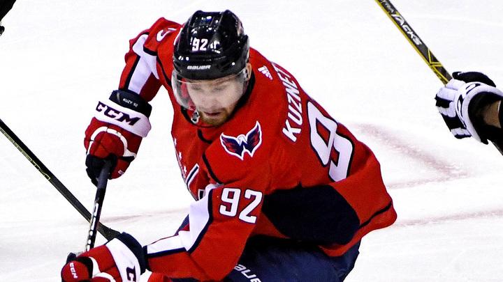 Кузнецов признан первой звездой игрового дня НХЛ
