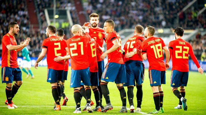 Испания сыграла вничью со Швейцарией