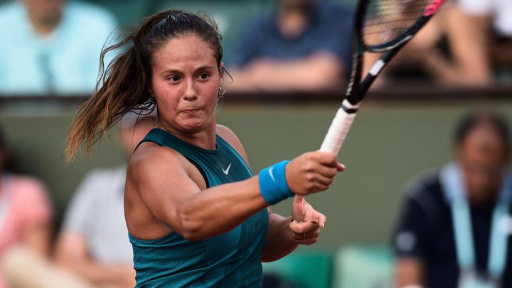 Касаткина впервые вышла в четвертьфинал Ролан Гаррос